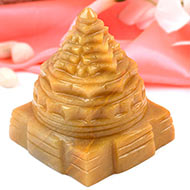 Yellow Jade Shree Yantra - 370 gms