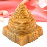 Yellow Jade Shree Yantra - 370 gms