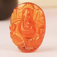 Gomed Ganesh - 15.45  Carats