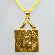 Siddh Mahalaxmi Locket in 22ct pure gold