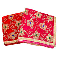 Floral design Mata ki Chunri