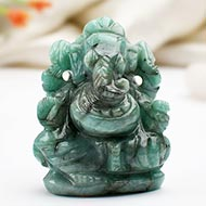 Ganesha in Emerald - 130 carats