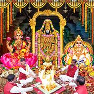 Venkateswara Laxmi Kuber Puja