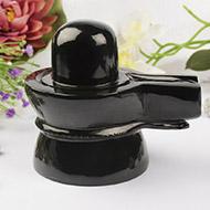 Black Agate Shivlinga - 1.129 Kgs
