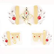 Shubh Labh with Ganesh acrylic set