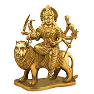 Maa Durga in heavy brass - Design I