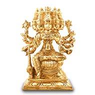 Gayatri Devi in Bronze