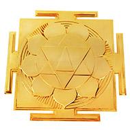 Siddh Meru Gayatri Yantra - Gold Polish