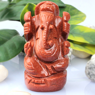 Sunstone Ganesha - 97 gm