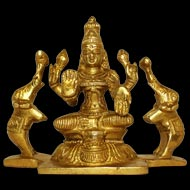Gajalakshmi in Brass