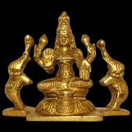 Gajalakshmi in Brass