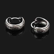 Earrings in Silver - Design XXIII