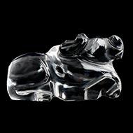 Nandi  in Crystal - 17 gms - I