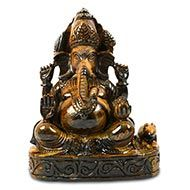 Tiger Eye  Ganesha - 1.778 kgs