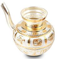Jaldhari Abhishek pot in pure silver