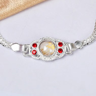 Pure silver Rakhi - Design IX