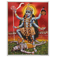 Goddess Maa Kaali Photo - Large