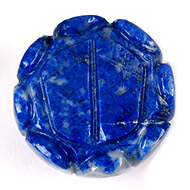 Laxmi Charan in Lapis lazuli - 54 gms