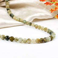 Faceted cats eye - 4mm
