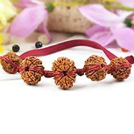 Healing Bracelet - N in thread