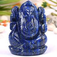 Lapis Lazuli Ganesha - 139 gms