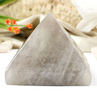 Pyramid in Smoky  Quartz
