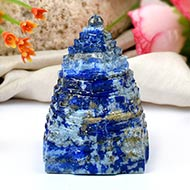 Lapis Lazuli Shree Yantra - 118 gms