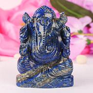 Lapis Lazuli Ganesha 376 gms