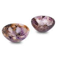 Amethyst Bowls - Set of 2