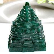 Green Jade Shree Yantra - 147 gms