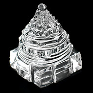 Shree Yantra in Sphatik - 46 gms - I