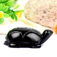 Black Agate Kurma - 72 gms