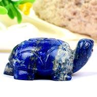 Lapis Lazuli Turtle (Kurma) - 57 gms