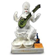 Chakra Vastu Saraswati Idol