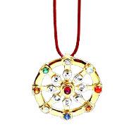 Divine Navratna pendant