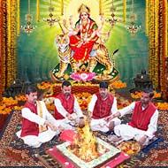 Durga Gayatri Mantra Japa Yagna and Homam