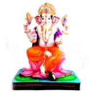 Bonded Marble Ganesh Idol