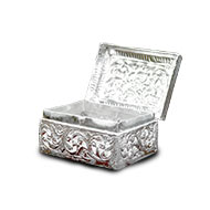 German Silver Treasure Box