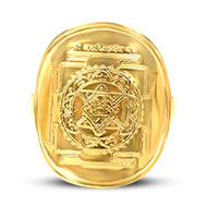 Shree Narsimhadev Yantra Ring in gold