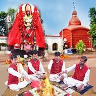 Goddess Tripura Sundari Puja at Tripureshwari Temple