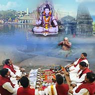 Group Shradh Puja at Trimbakeshwar