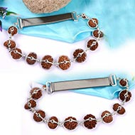 Indrakshi combination of Nepal Java beads in silver - Large beads