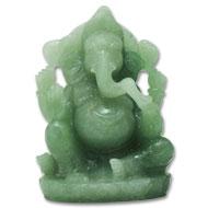 Green Jade Ganesh - 903 gms