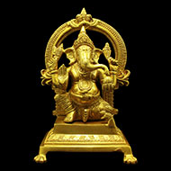 Ganesha in Brass - VIII
