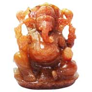 Natural Sunstone Ganesha - 721 gms