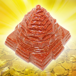 Shree Yantra in Sunstone - 267 gms