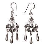 Earrings in Silver - Design VII