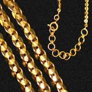Gold Chain - link chain design