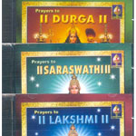 3 CD Pack - Prayers to Lakshmi Saraswati and ..