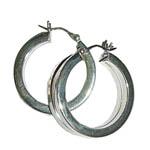Earrings in Silver - Design III